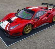 بيريللي تزوّد سيارة فيراري 488 جي تي موديفيكاتا الجديدة بإطارات بي زيرو دي إتش إي المخصصة للسباقات
