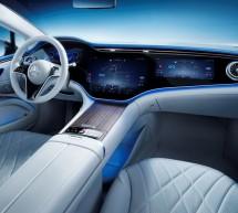 سيارة EQS الجديدة: تصميم يضمن المتعة لجميع الحواس