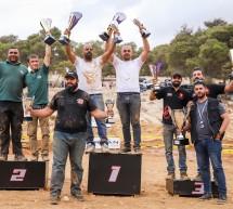الفلسطيني وسام خليلية يتوج بلقب سباق الدفع الرباعي الثاني والفرسان بطلا للفرق