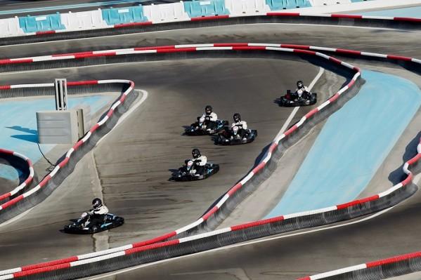 ياس كارت زون المطورة حديثًا تفتح أبوابها للآلاف من جماهير سباق الفورمولا 1