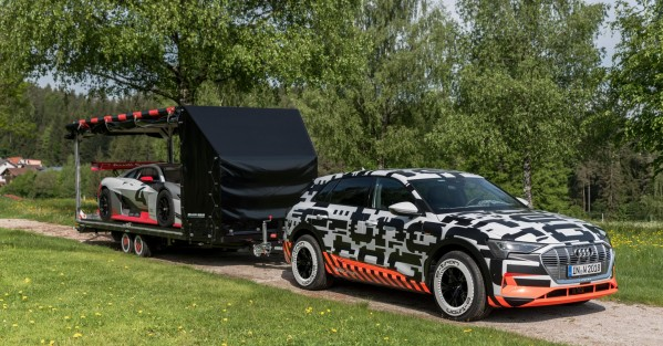 كهربائية بالكامل: Audi e-tron تستعرض قوتها في ورثيرسي