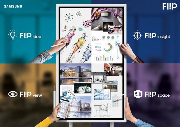 سامسونج الكترونيكس المشرق العربي تستعرض اللوح الرقمي Flip خلال فعاليات منتدى تكنولوجيا المعلومات MENA ICT Forum 2018
