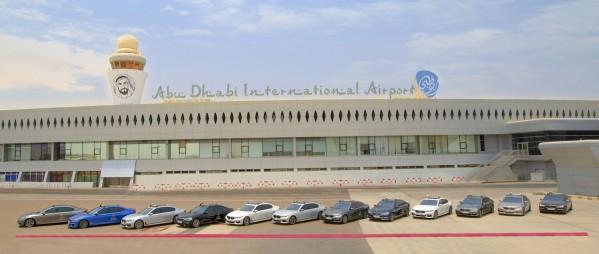 """""""أبوظبي موتورز"""" توسع أسطول سيارات BMW الفاخرة في مطار أبوظبي"""