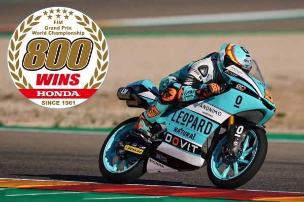 هوندا تصنع التاريخ: 800 فوز في سباق الجائزة الكبرى للدراجات النارية