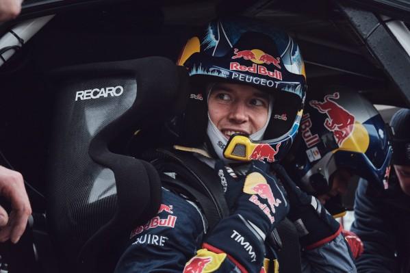 """السائق السويدي """"تيمي هانسن"""" يعرب عن حماسته للمنافسة في سباق """"إكستريم إي العلا"""" الافتتاحي الذي تستضيفه المملكة يومي السبت والأحد"""
