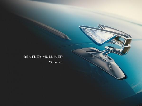 Bentley تطرح نظام التجسيد المرئي  Mulliner Visualiser الجديد الذي يمكّن الإعداد الافتراضي الخاص