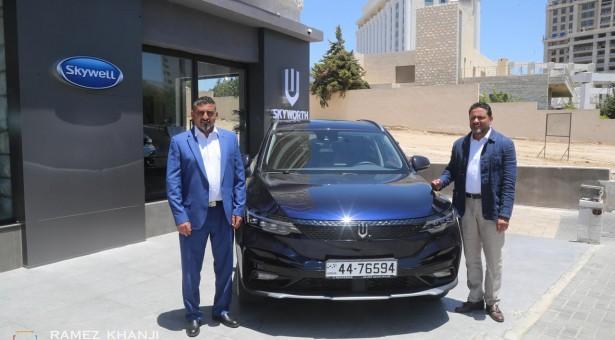 """طرح سيارة """"SkyWell ET5"""" 2021 الفخمة في الأسواق الأردنية"""