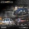 48 متسابقا من الأردن وفلسطين يعلنون مشاركتهم في سباق السرعة الثاني على حلبة منجا الجمعة
